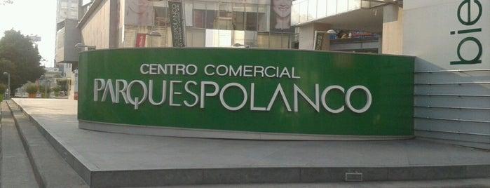 Parques Polanco is one of Plazas chingonas.