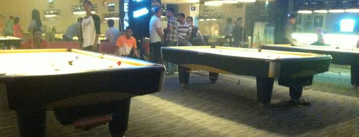 Arena Pool & Cafe is one of Favorite affordable date spots.