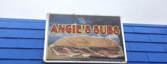 Angie's Subs is one of food places to try.
