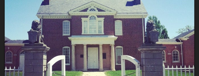 Mount Clare Museum House is one of The Great Baltimore Check-In.