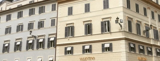 Valentino is one of Rome.