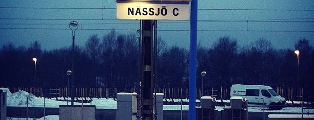 Nässjö Centralstation is one of Tågstationer - Sverige.