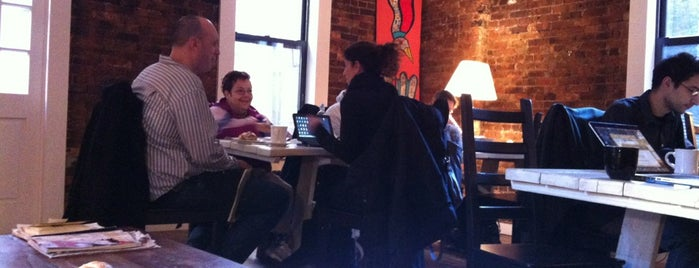 Vineapple Cafe is one of Best NYC Coffee Shops To Work From.