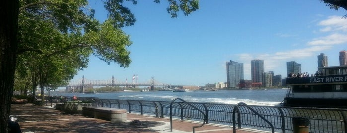 East River Esplanade is one of Great Outdoor and Swimmies.