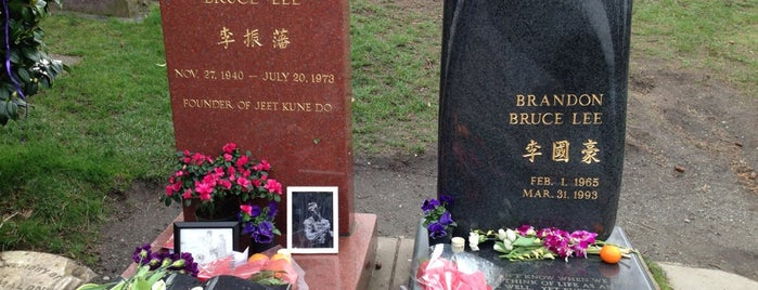 Bruce Lee's Grave is one of All TIP.