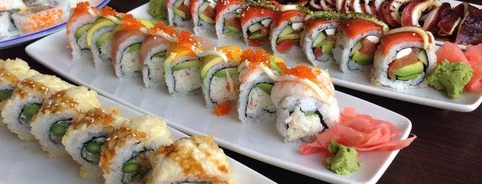 Hananoki is one of sushi place.