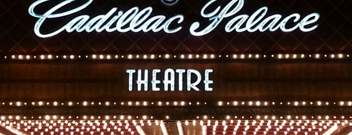 Cadillac Palace Theatre is one of Guide to Chicago's best spots.