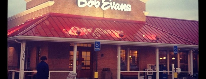 Bob Evans Restaurant is one of Top 10 dinner spots in Brownsburg, Indiana.