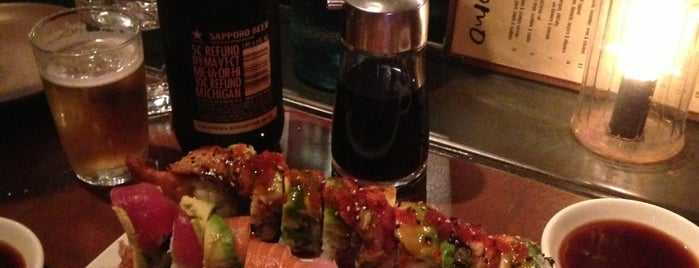 Domo Sushi is one of 2012 San Francisco Michelin Bib Gourmands.