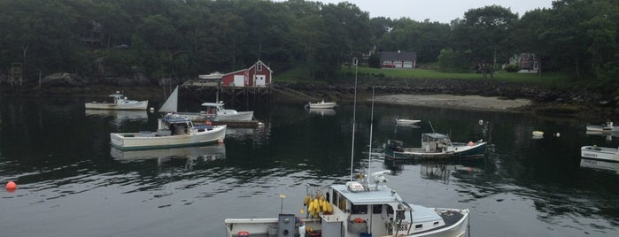 Shaw's Fish and Lobster Wharf is one of Maine Lobster!.