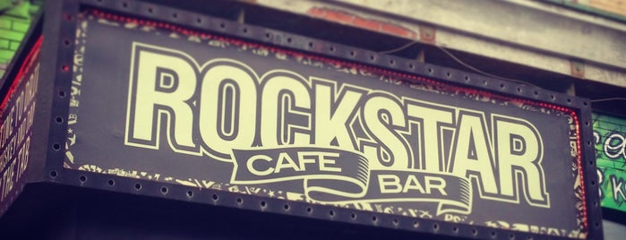 ROCKSTAR Bar & Cafe is one of Caffe.