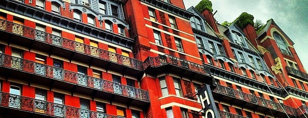 Hotel Chelsea is one of foursquare limits friends to 1k, sorry.