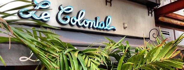 Le Colonial is one of CHICAGO: EAT,SHOP,DAZE.