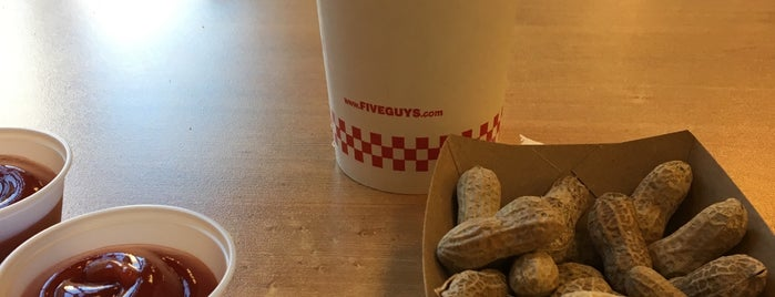 Five Guys is one of my new longer done list.