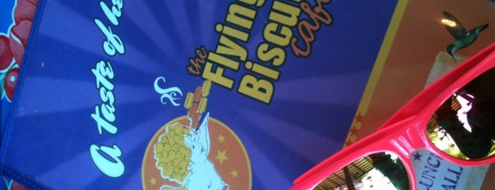 The Flying Biscuit Cafe is one of #myhints4Atlanta.