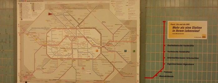 U Alt-Tegel is one of Besuchte Berliner Bahnhöfe.