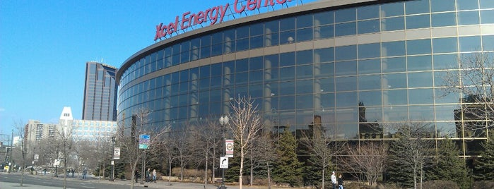 Xcel Energy Center is one of fun places to check out.
