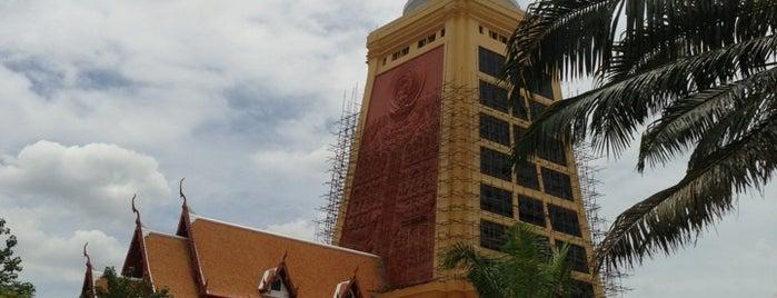 Wat Dhammamongkol is one of เพื่อนใหม่ปี 55.
