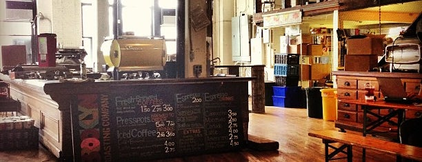 Brooklyn Roasting Company is one of Unravel New York.
