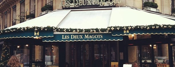 Les Deux Magots is one of Paris, FR.