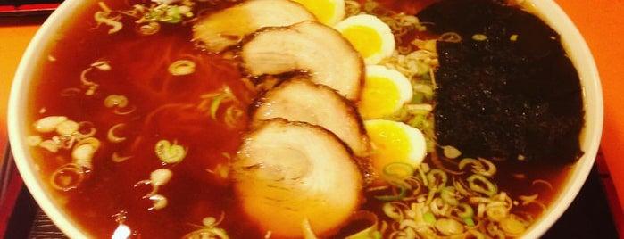 라멘81번옥 (ラーメン81番屋) is one of Itaewon food.