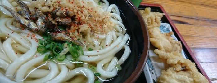 うどん市場 めんくい is one of めざせ全店制覇~さぬきうどん生活~ Category:Ramen or Noodle House.
