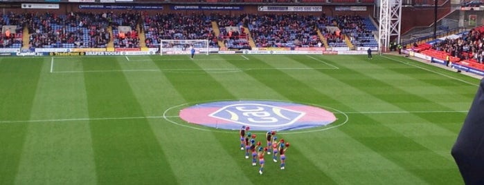 Selhurst Park is one of Football grounds visited.