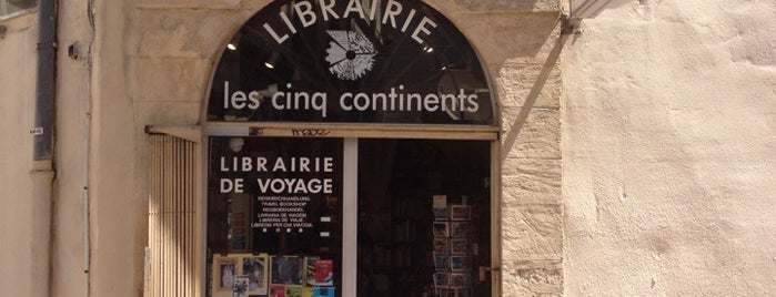 Les 5 continents is one of Libraries and Bookshops.