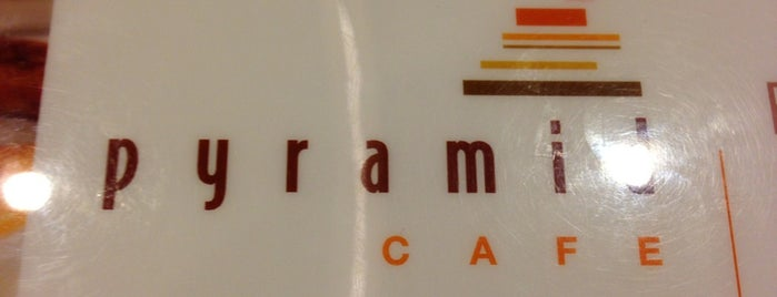 Pyramid Cafe is one of Badge list.
