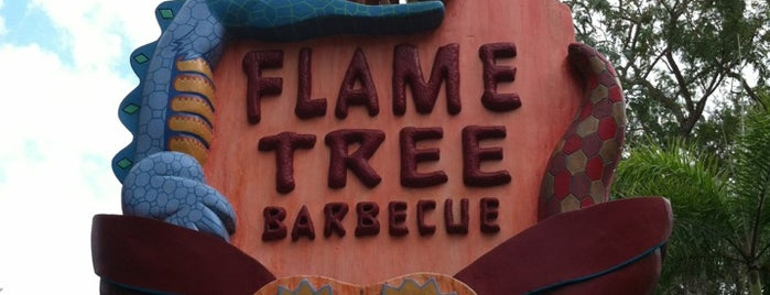 Flame Tree Barbecue is one of Disney Adventure.