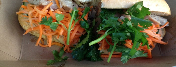 BONMi Food Truck is one of David's tips.