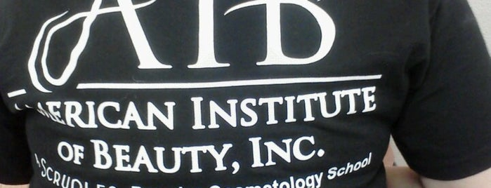 American Institute of Beauty, Inc. is one of my checkin spots.