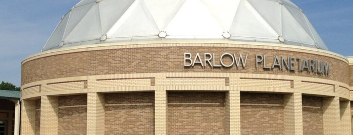 Barlow Planetarium is one of Milwaukee.