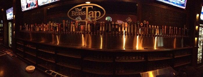 The Brass Tap is one of Cincinnati Beer Geek.