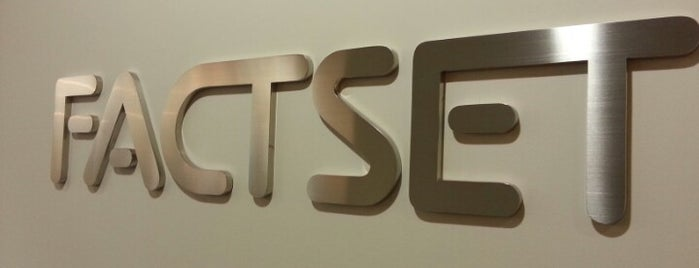 FactSet Research Systems is one of Silicon Roundabout / Tech City London (Open List).