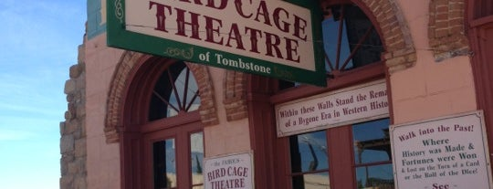 The Original Bird Cage Theatre Of Tombstone is one of Ghost Adventures Lockdowns.