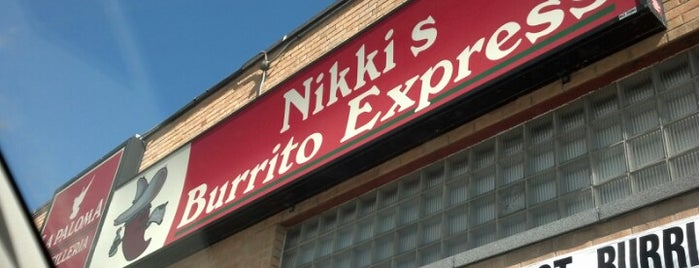 Nikki's Burrito Express is one of Great South Dakota Restaurants.