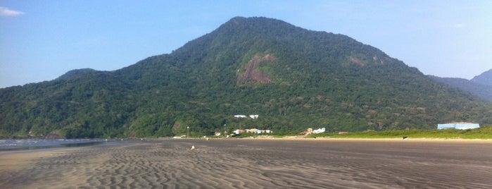 Serra dos Itatins is one of Peruibe.
