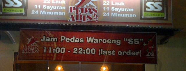 Waroeng SS is one of Kuliner Wajib @Surabaya.