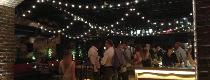 Refinery Rooftop is one of NYC Restaurants: To Go Pt. 2.