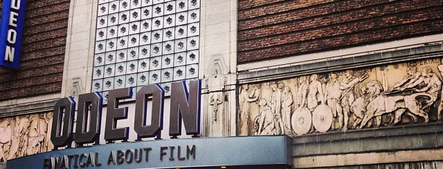 Odeon is one of Must-visit Movie Theaters in London.