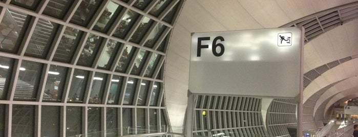Gate F6 is one of TH-Airport-BKK-1.