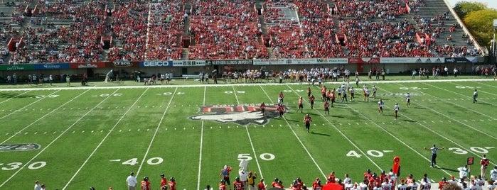 MAC Football Stadiums