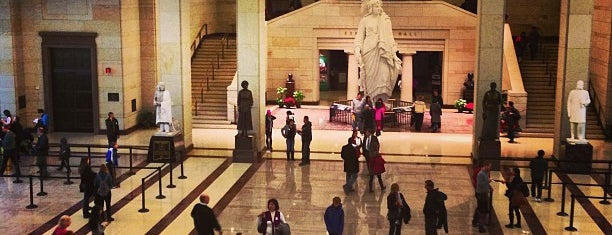 United States Capitol Visitors Center is one of DC To Do - Activities.