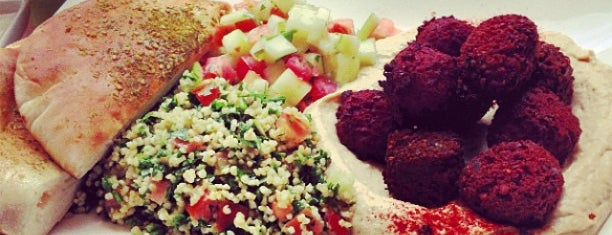 Taïm Falafel and Smoothie Bar is one of Awesomest Spots NYC & Beyond.