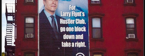 What larry flynt hustler club nyc
