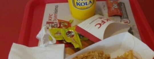 KFC is one of lugares donde voy :-).