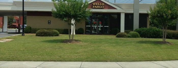 Wells Fargo is one of stores.