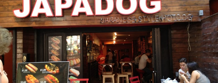 Japadog is one of NYC to try.