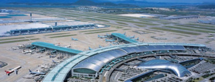 Incheon International Airport (ICN) is one of Airports.